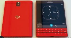 BlackBerry Passport представят в красном и белом цветах в честь новогодних праздников