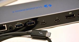 Новый разъем Thunderbolt 3 в три раза быстрее и использует двухсторонний USB-C