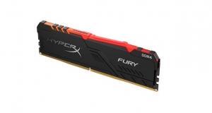 HyperX представив нові модулі пам'яті лінійок FURY DDR4 RGB та FURY DDR4