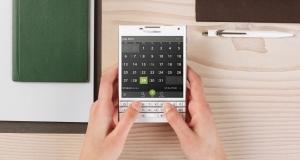 Белый BlackBerry Passport похвастается «фарфоровой» задней крышкой