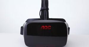 Первый шлем виртуальной реальности от AOC