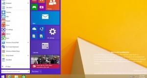 Windows 9 показала наличие стартового экрана. Приложения Metro запускаются с рабочего стола