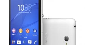 Официальные данные о Sony Xperia E4 и E4 dual с 5-дюймовым qHD экраном