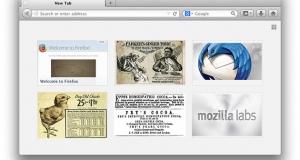 Новым пользователям на заметку: чистые вкладки браузера Firefox будут показывать рекламу