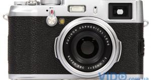 Fujifilm FinePix X100 – ретродизайн и завидная функциональность, это стоит увидеть!