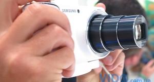 Репортаж IFA 2012: Samsung GALAXY Camera под управлением ОС Google Android 4.1 Jelly Bean