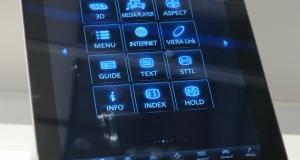 Panasonic демонстрирует работу Vierra Remote App