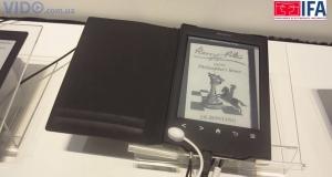 Sony Reader PRS-T2: работа с социальными сетями, сенсорный дисплей E Ink Pearl и два месяца без подзарядки!