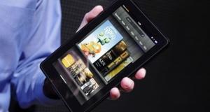 Анонс нового планшета Kindle Fire на пресс-конференции Amazon