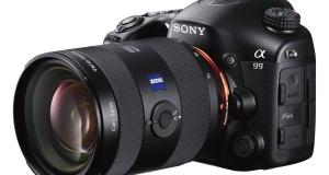 Фотоаппарат Sony α99 с полноформатной матрицей