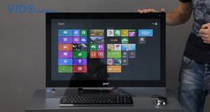 Экспресс-обзор: Acer Aspire 7600U – сенсорный моноблок с Windows 8 на борту