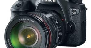 Canon представляет 20,2 Мп зеркальную камеру EOS 6D