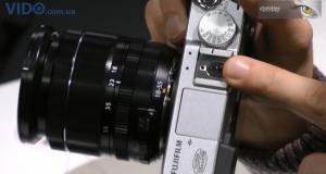 Photokina 2012: Fujifilm X-E1 - отличные возможности!