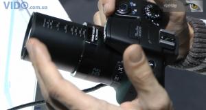 Canon PowerShot SX50 HS – первый ультразум с 50-кратной оптикой