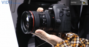 Canon EOS 6D – самая легкая полнокадровая зеркальная камера