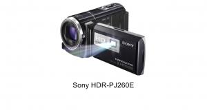 Снимает и показывает видеокамера-проектор Sony HDR-PJ260E