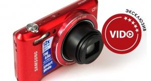Обзор фотокамеры Samsung WB35F: сама, сама, сама