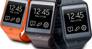 Android Wear была замечена на умных часах Samsung Gear 2