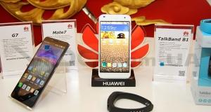 Компания Huawei показала два новых смартфона, фитнес-браслет и новый интерфейс Emotion UI 3.0