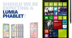 Первый взгляд на новый фаблет Microsoft Lumia 1330