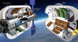 Надувная космическая станция может появится на орбите в 2020 году
