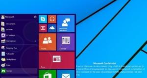 Новый дизайн меню «Пуск» и многое другое в скриншотах Windows 9