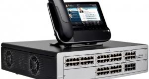 Оптимальное решение телефонии для среднего и малого бизнеса: Alcatel-Lucent OmniPCX Office Rich Communication Edition