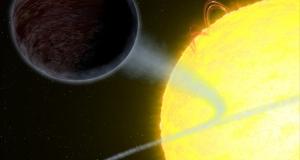 Хаббл показав абсолютно чорну екзопланету, що «їсть» світло
