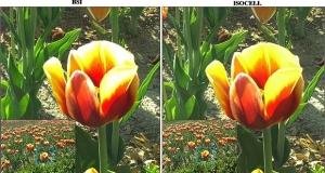 Новый КМОП-сенсор с фильтром RWB для фронтальных камер