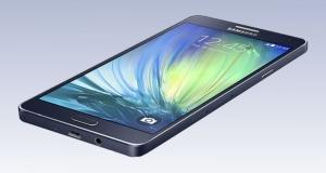 Обзор смартфона SAMSUNG A7