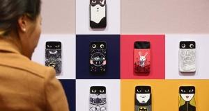 Смартфон LG AKA стал звездой выставки современного искусства
