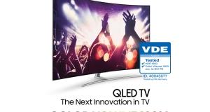 Новый QLED телевизор Samsung первым в мире воспроизводит цвета в полном объеме
