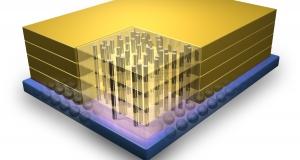 IBM и Micron начинают производство 3-х мерных чипов памяти Hybrid Memory Cube.