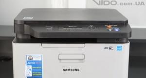 Видеообзор Samsung Xpress C460W: NFC-печать