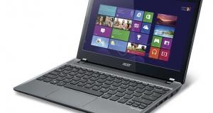 Acer начинает выпуск ультрабуков на новой Windows 8