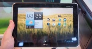 Acer начинает выпуск недорогих Android-планшетов Iconia и бросает вызов Google Nexus 7