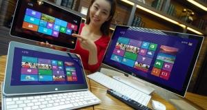 Новые устройства от LG на базе Windows 8