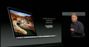 Тоньше, легче и дороже! Apple анонсировала 13-дюймовый Retina MacBook Pro