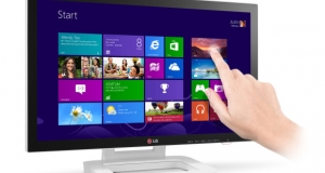 LG представляет 23-дюймовый сенсорный монитор для Windows 8