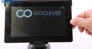 GoClever TAB T76GPS: планшет, навигатор и видеорегистратор в одном устройстве