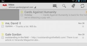 Новые возможности Gmail для Android