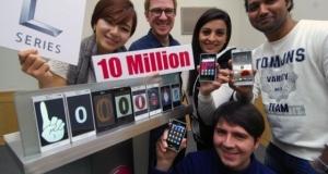 Продажи смартфонов серии L превысили 10 миллионов