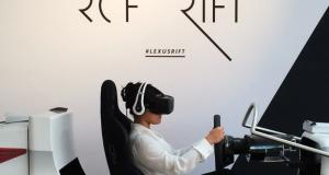 Lexus создала симулятор тест-драйва Lexus RC F с помощью софта Oculus Rift