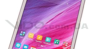 Обзор планшета ASUS MeMO Pad 8 (ME581CL): розовый универсал