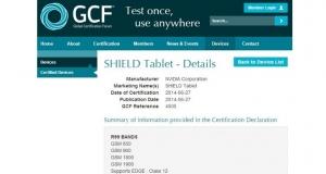 Планшет NVIDIA Shield 4G прошел сертификацию, известна дата презентации