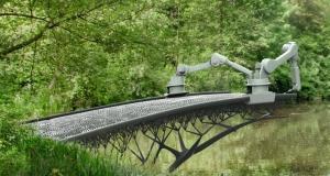 В Амстердаме бросят вызов гравитации, построив мост с помощью 3D-принтера