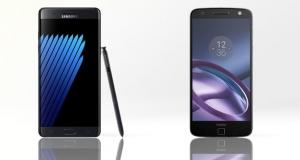 Samsung Galaxy Note 7 vs Moto Z: в чому різниця?