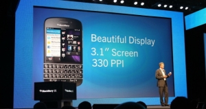 Z10 и Q10 – новые смартфоны от Blackberry
