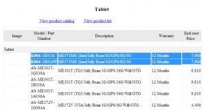 На MWC может появиться 7-дюймовый ASUS Fonepad на базе Intel