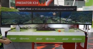 Acer показал на Computex три монитора, но не представил свою новую игровую линейку